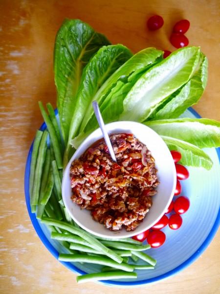 Thai-Style Lettuce Wraps | Nam Prik Ong | น้ำพริกอ่อง