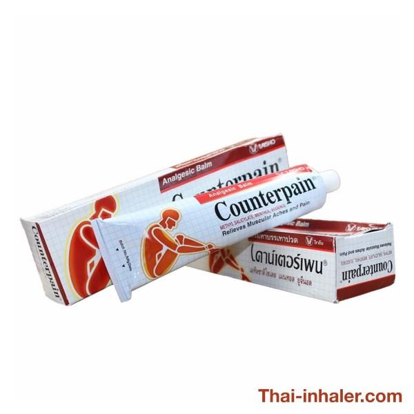 Taisho Counterpain - Thailändisches Analgetikum-Balsam - 120 Gramm - 1 Stück