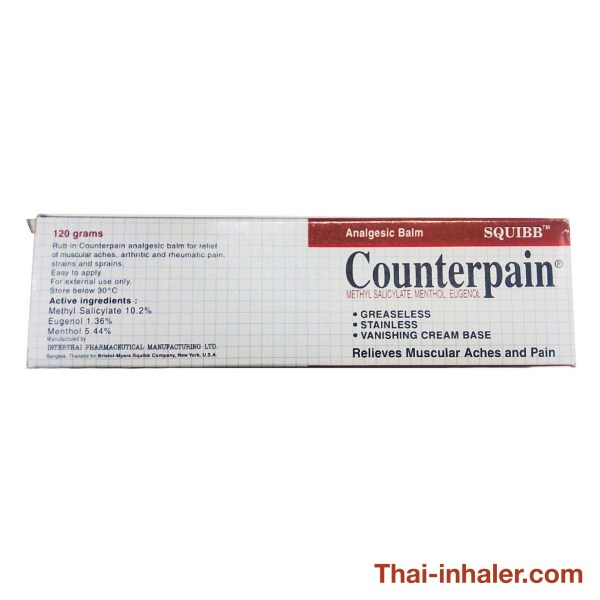 Taisho Counterpain - Thailand Analgesic Balm - 120 Grams - 1 Piece