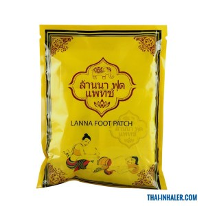 Lanna Foot Patch – Thailand Foot Plasters – 10 Plasters
