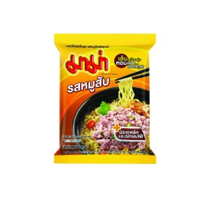 Instant Noodles Minced Pork Flavour From Thailand - Mama Brand - 1 Pack