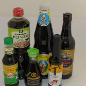 Sauces soja