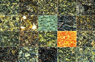 Tees-Mix 2: 20 verschiedene Tees aus Nord-Thailand, Collage