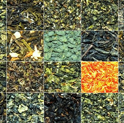 Tee-Mix 2: 20 Tees aus Nordthailand, Collage
