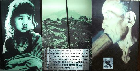 Doi Tung ( Königliches Entwicklungsprojekt): Armut / Opium / Prostitution / HIV