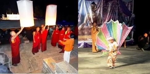 Tempelfest in Ban Therd Thai