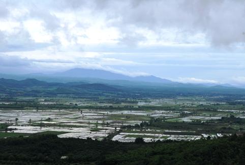 Panoramic view near Doi Mae Salong, Thailand