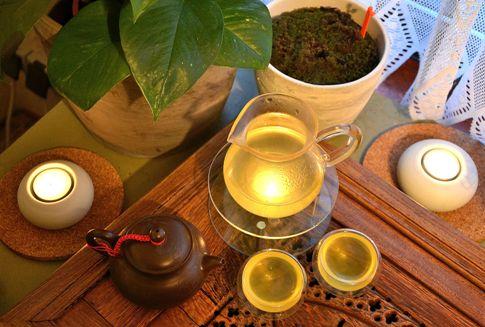 Organischer Kabuse Sencha Grüner Tee aus Japan