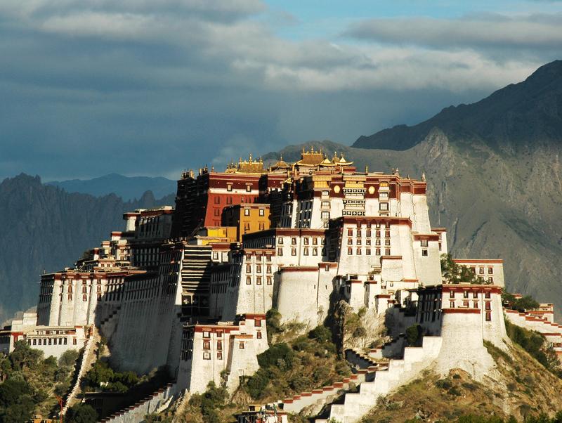 Potala-Palast in Lhasa, Tibet