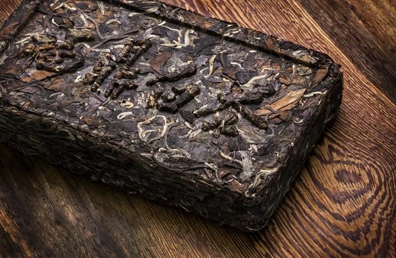 Pu Erh Tee Ziegel, bestens geeignet für den Transport auf der Tee-Pferde-Straße