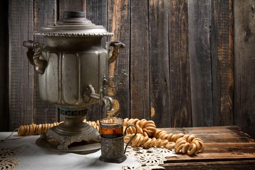 Der Samowar ist das Wahrzeichen der russischen Teekultur