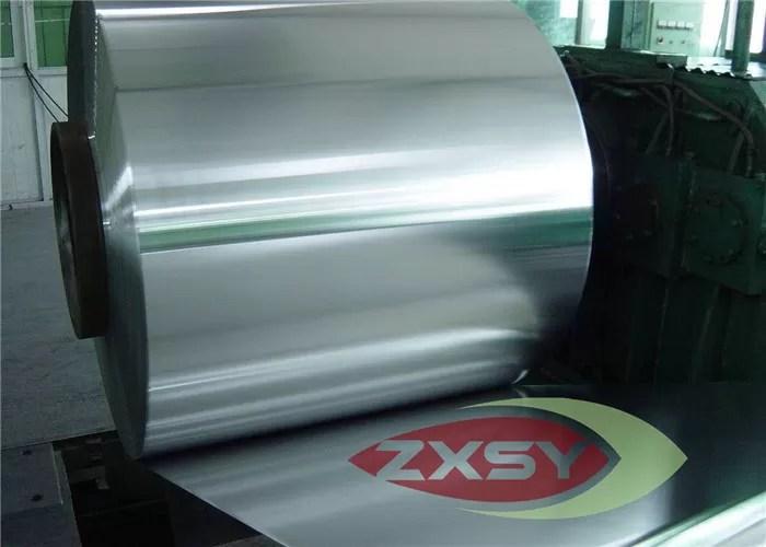 เครื่องแลกเปลี่ยนความร้อน Professional Aluminum Foil Roll Extrusion 8011 8021
