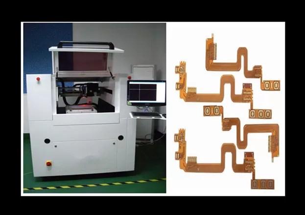 High Speed Cnc Laser Cutter . 8W / 30 Khz Intelligent Ceramic Boards Laser Metal Cutting Machine