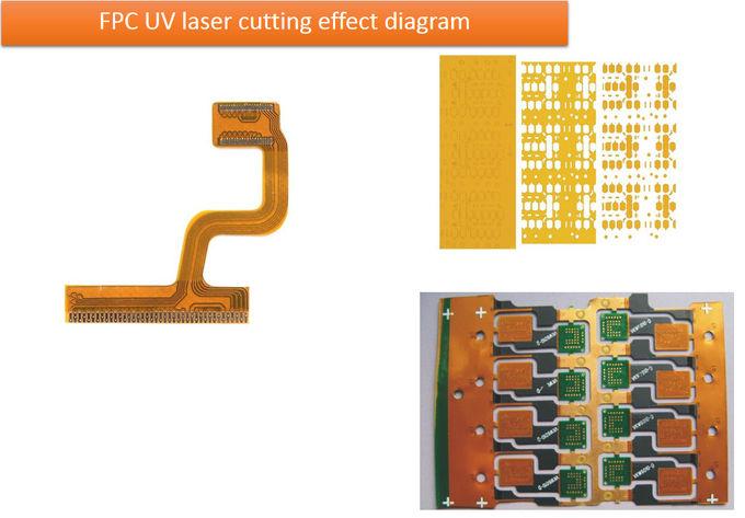 เครื่องตัดเลเซอร์ UV CNC ความแม่นยำสูงสำหรับบอร์ด PCB ...