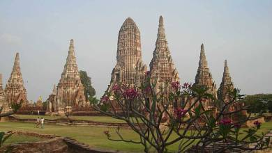 Ayutthaya, a antiga capital do Sião