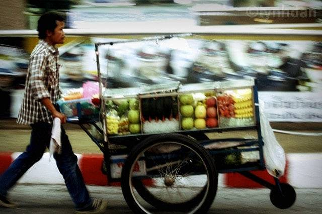 Fruit seller Thailand