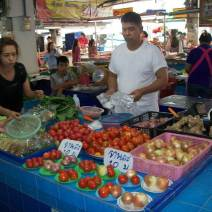 Phitsanulok Market - vegetables sold in small lots