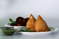 Indian restaurants in Thailand-Samosa a popular Indian snack usually stuffed with potatoes or meat
