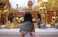 Inside the Doi Suthep Temple