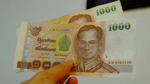 2000 thai bahts - picture of Thai currency