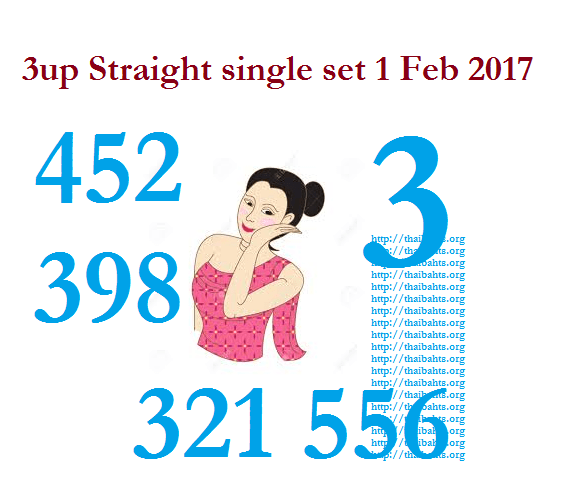 3up straight single set 1-Feb-2017