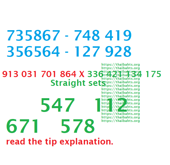 3d tips Thai lottery results 17-1-2019