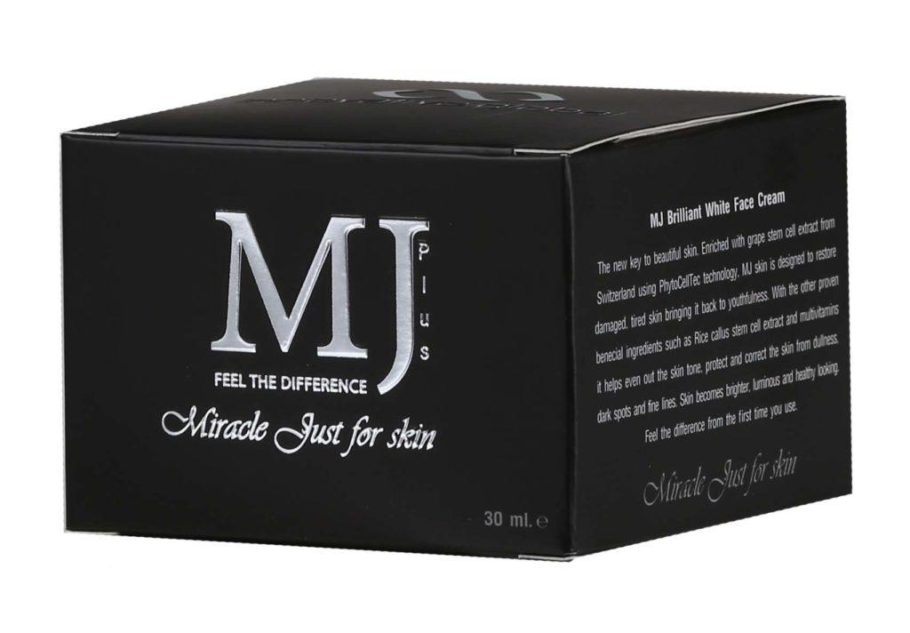 Mj Plus Brilliant White Face Cream 30 G  Thailand Best