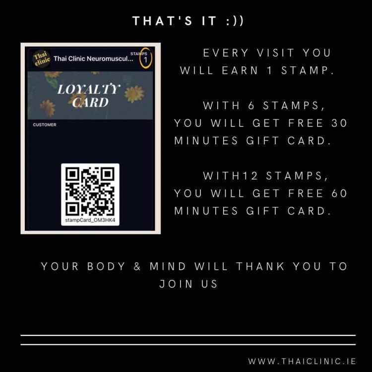 loyalty card kildare