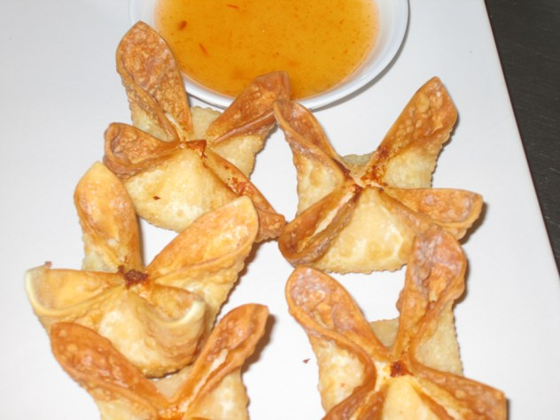 Crab Rangoon from Thai Spice Restaurant