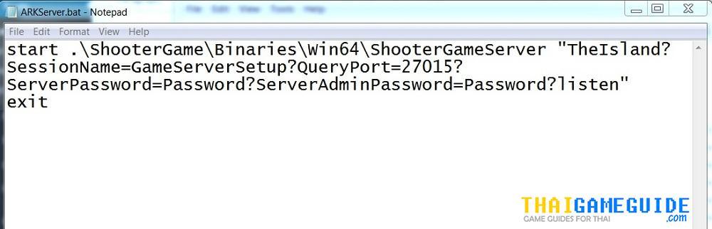 ARK Survival Evolved Host Dedicated Server 01