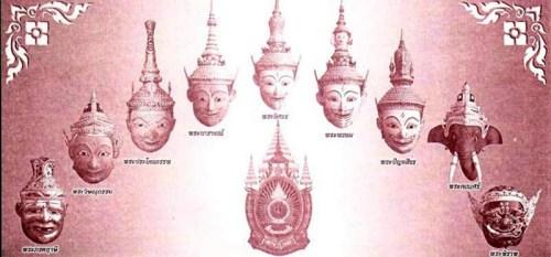 Ruesi Durya Taep Khone Masks