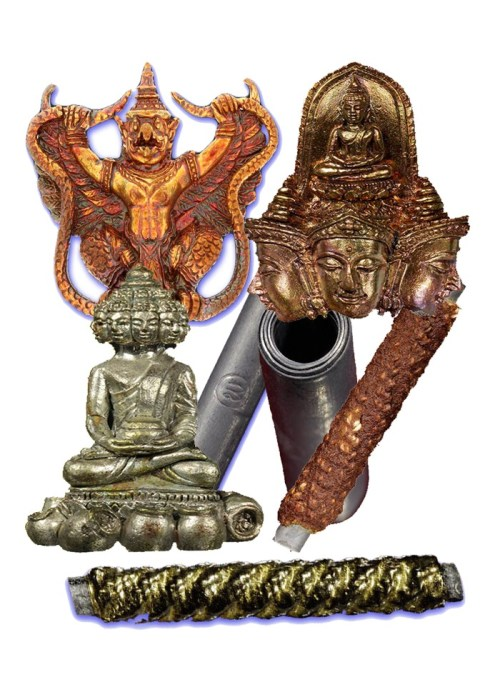 Luang Por Phad Classic Buddhist Amulets from Yester-Year