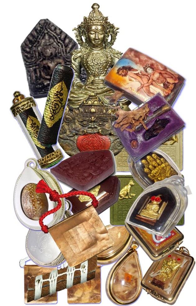 Latest additions of Thai Buddhist Amulets