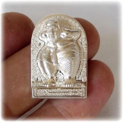 Hun Payont Dta Ba Khaw - Nuea Ngern (Solid Silver) - Por Tan Kloi