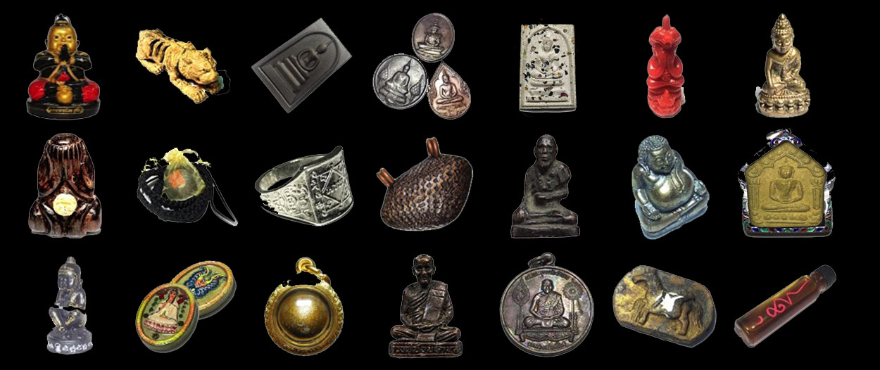 Thai Amulets in Store January 2018