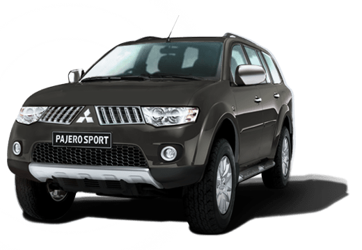 Mitsubishi Pajero Sport available in Storm Grey