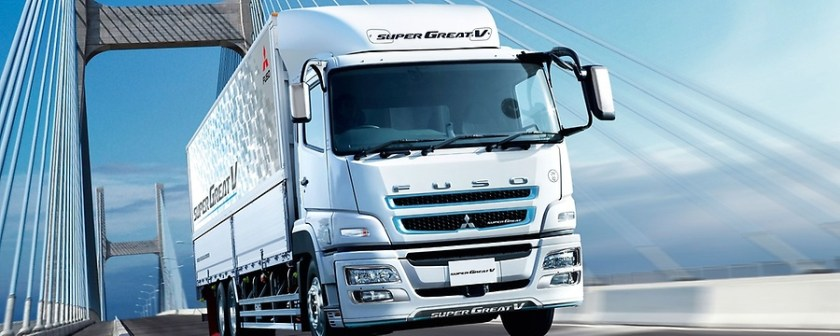 FUSO Super Great V: Distribution and goods transportation, construction