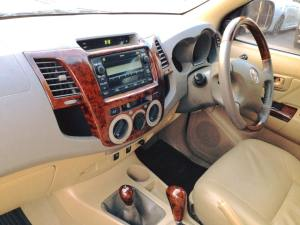 2008 2009 2010, 2011 Toyota Hilux Vigo Minor Change Model interior view