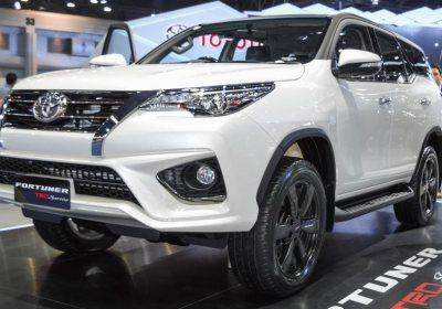 Toyota Fotuner TRD in stock