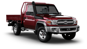 Toyota Land Cruiser LC79 Single Cab Chassis GXL