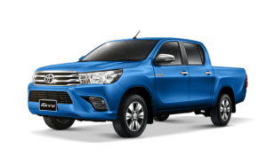 Toyota Hilux Revo Double Cab available in Nebula Blue