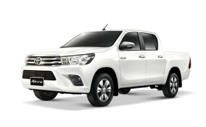 Toyota Hilux Revo Double Cab available in Pearl White Crystal Metallic