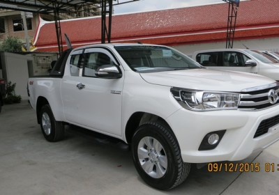 Single Cab Toyota Hilux Revo