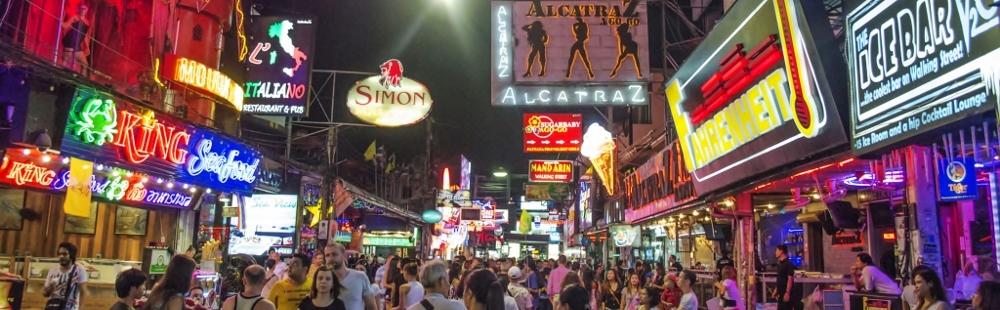 Walking Street Pattaya Nightlife