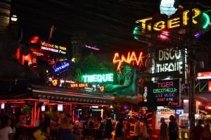 Patong Bangla road - Phuket nightlife area