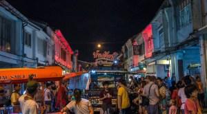 Phuket nightlife areas - Phuket town