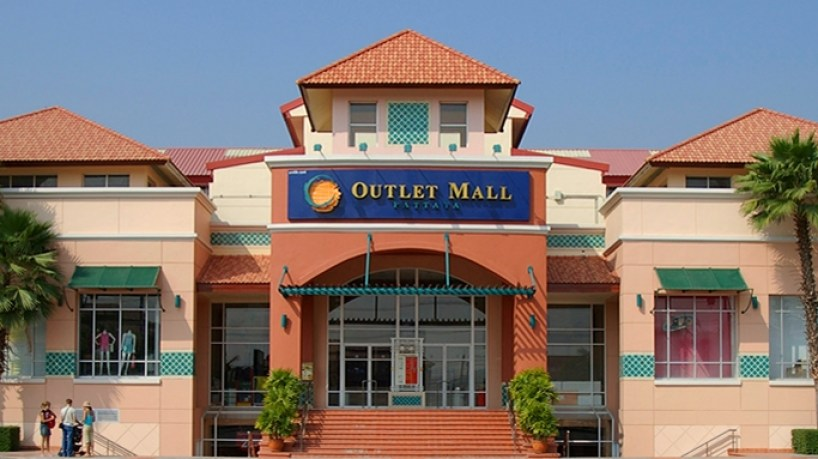 Factory outlet mall Pattaya