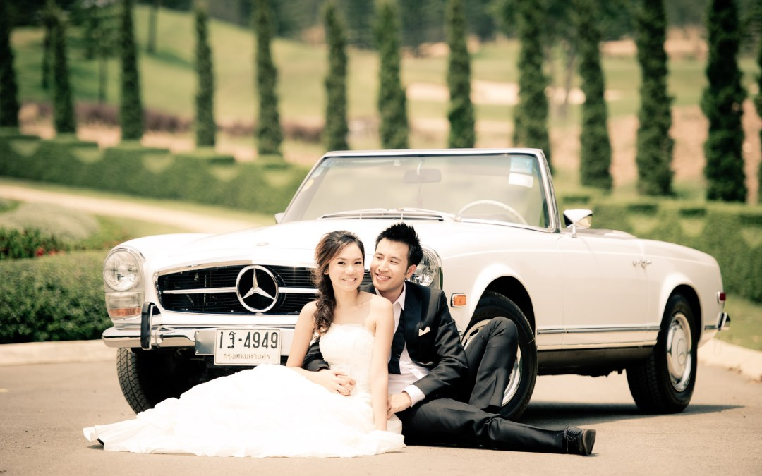 Pre-Wedding at Toscana Valley in Khao Yai Thailand