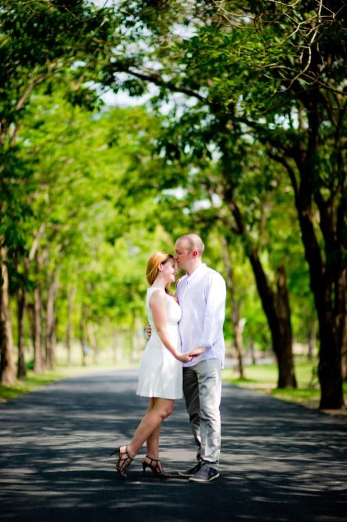 Bangkok Engagement Session - Sara & Mark