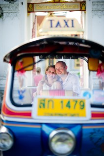 Bangkok Engagement Session - Sara & Mark